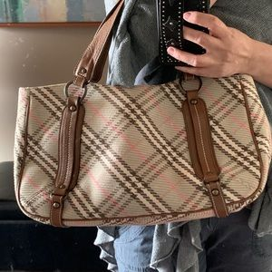 Burberry London Blue Label tote